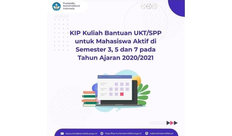 Kartu Indonesia Pintar (KIP) Kuliah dan Bantuan UKT/SPP